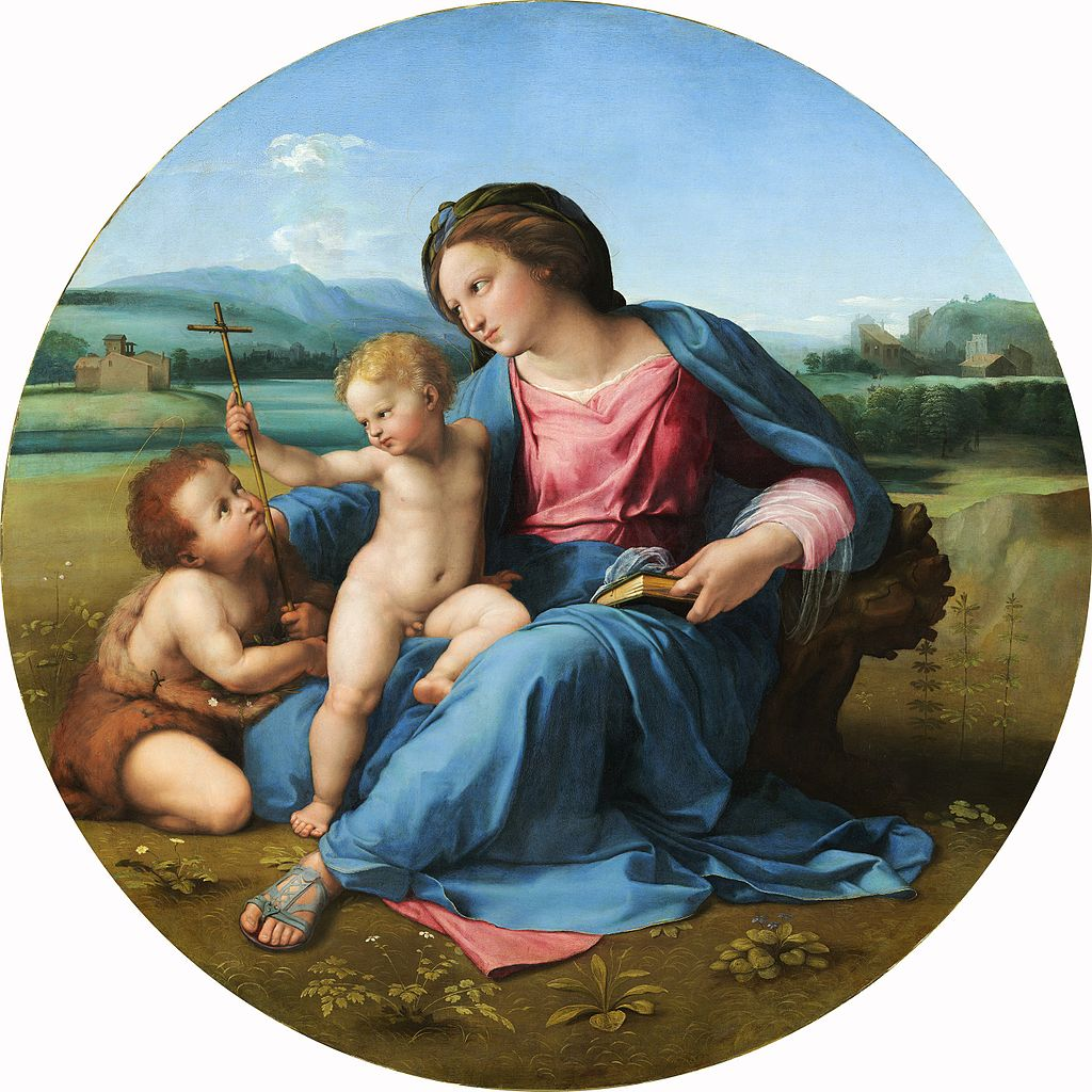 """Madonna de Alba"" de Rafael"