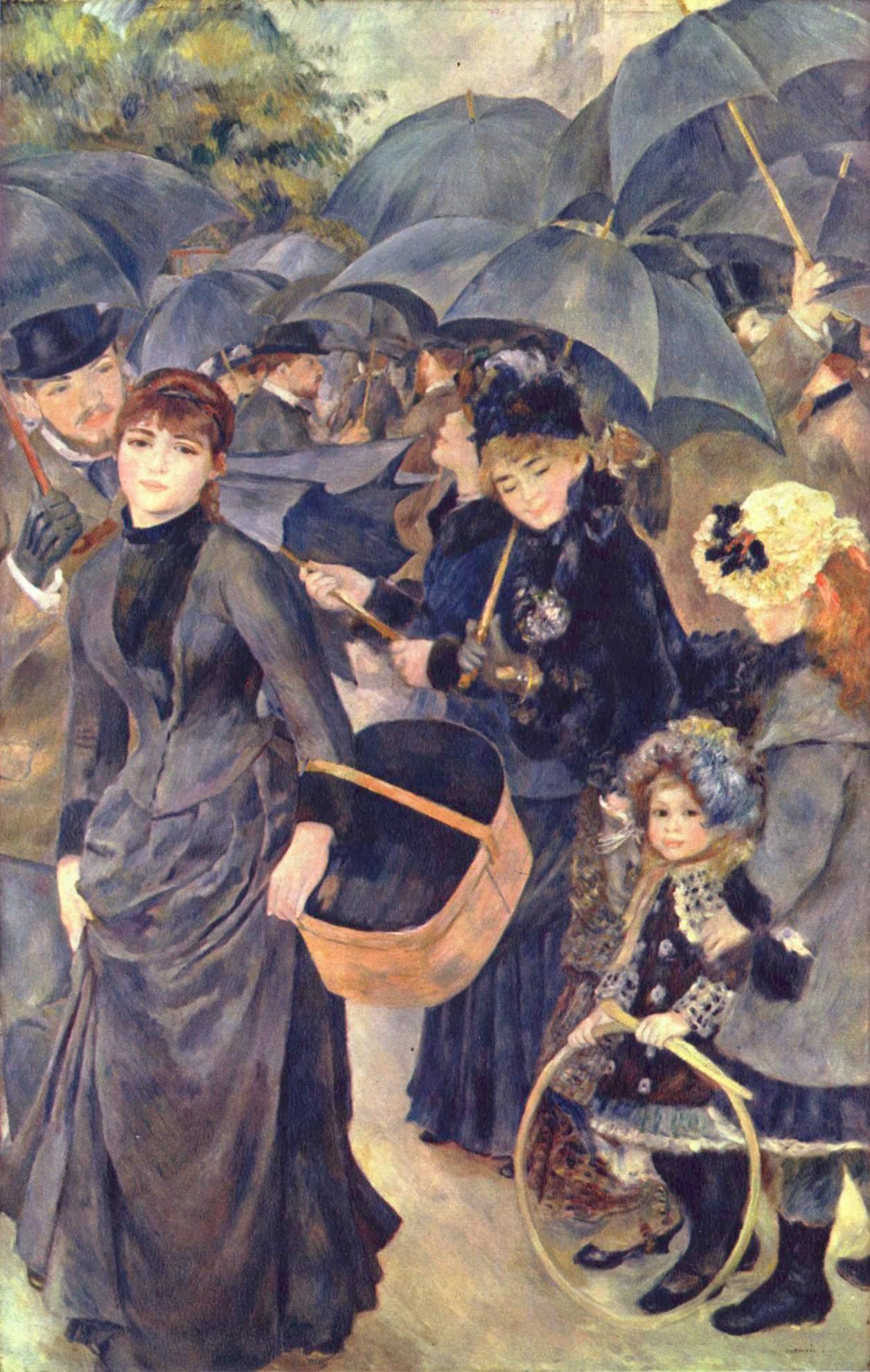 """""""Los paraguas"""" de Pierre-Auguste Renoir"""