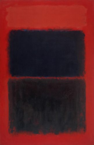 Light Red Over Black 1957 by Mark Rothko 1903-1970