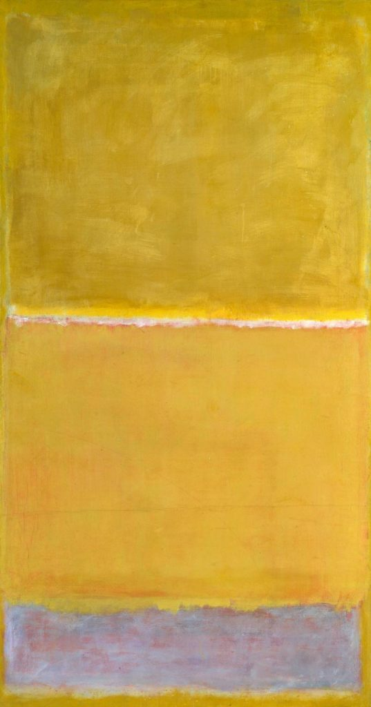 Untitled c.1950-2 by Mark Rothko 1903-1970