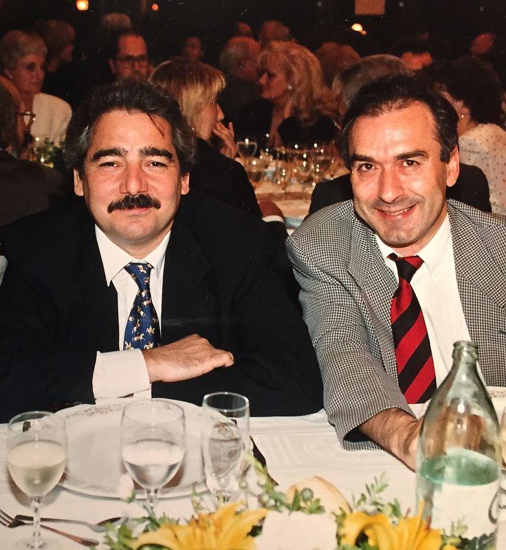 Dr. José María Gil-Vernet Sedó con el Prof. José Ramón Sañudo Fuente: gilvernet.com