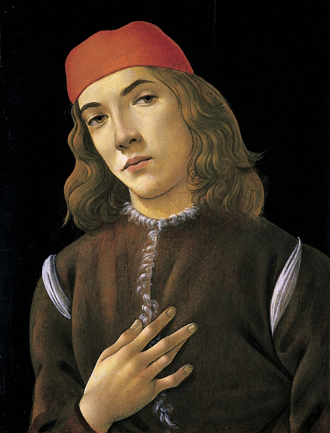 Sandro Botticelli «Retrato de un hombre joven»