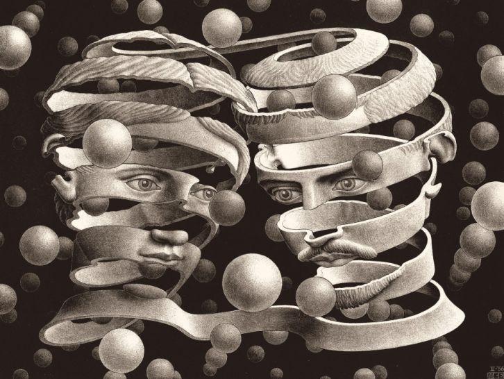 Maurits Cornelis Escher «Bond of Union»