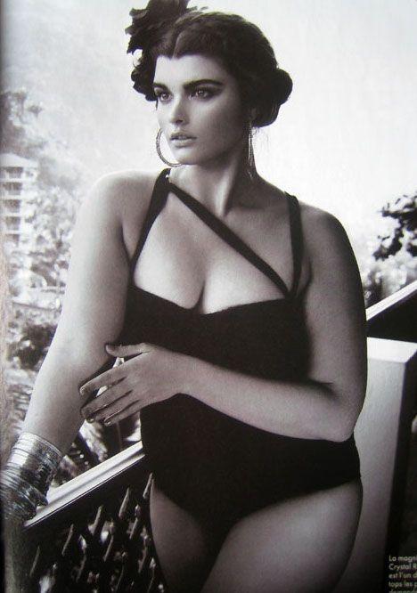 Fotografía de la modelo Crystal Renn Fuente: joyjohane-blog