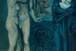 Pablo Picasso. «La Vie» 196x129 cm Óleo sobre lienzo 1903