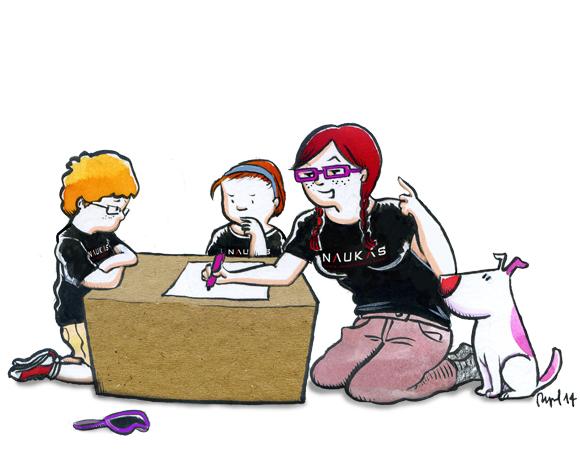 Raquel Garcia Ulldemolins Ilustración de «Naukas»