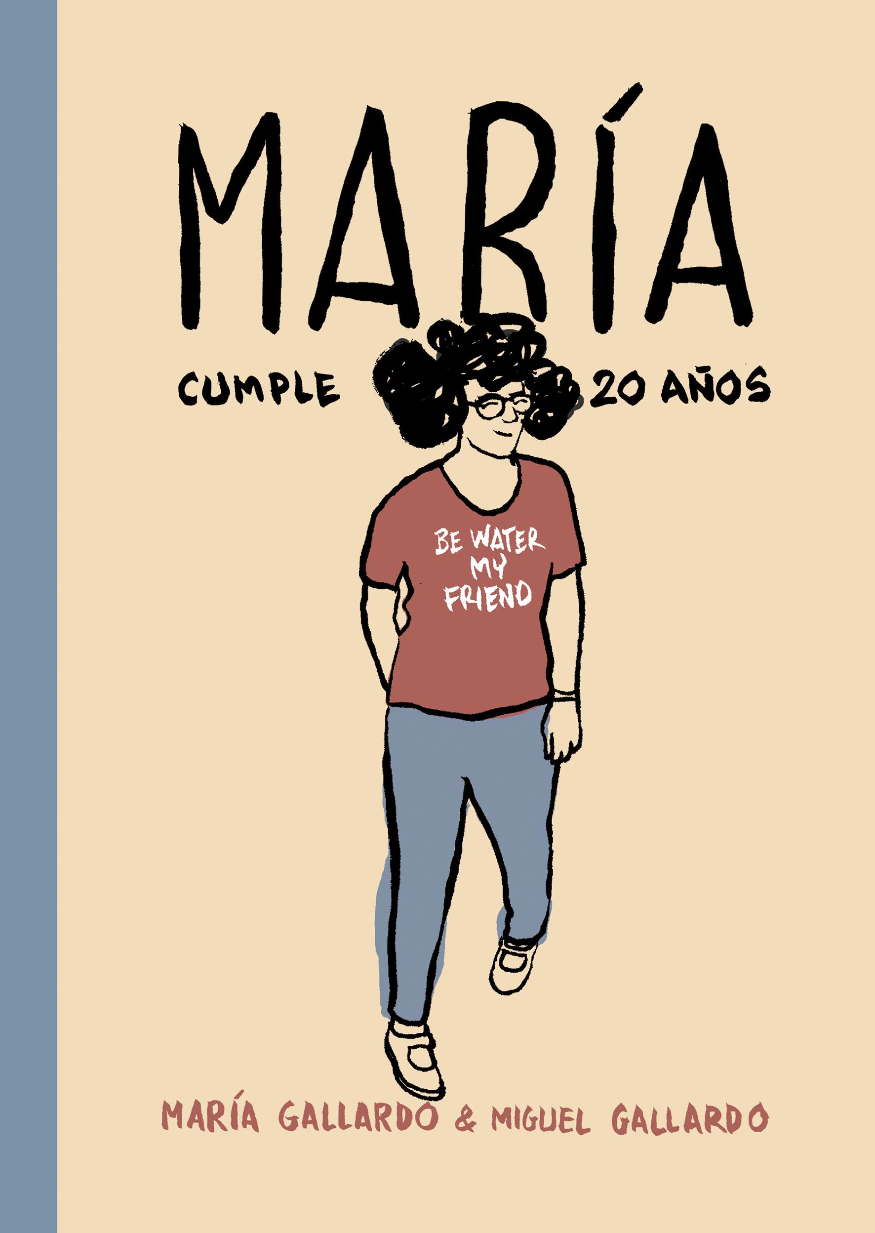 Cubierta de «María cumple veinte años»