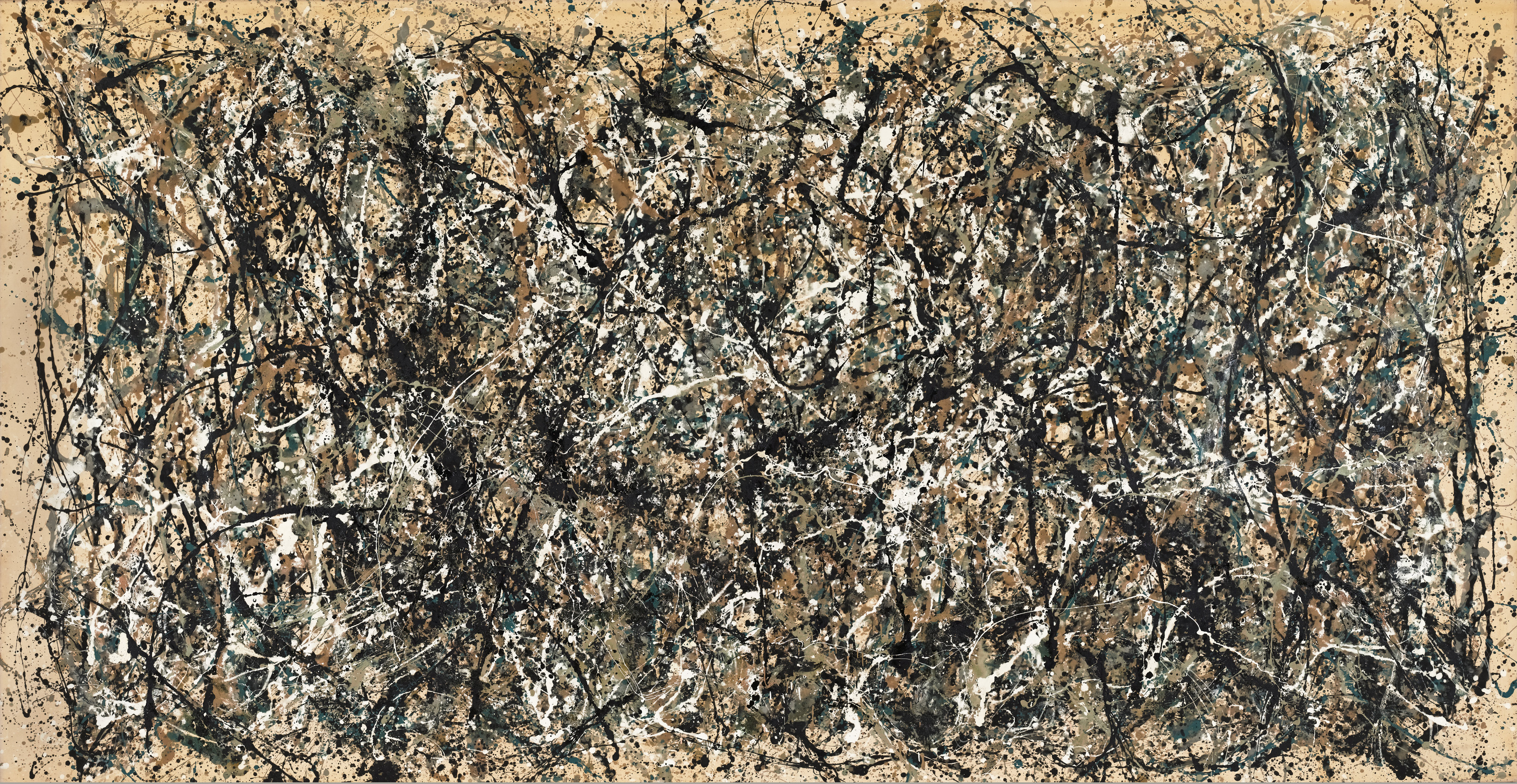Jackson Pollock «One: Number 31» 1950