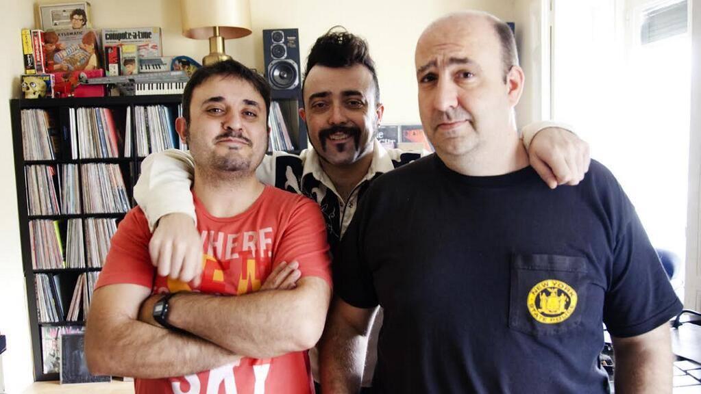 "Los ""catastróficos"" Antonio Martínez Ron, Javier Álvarez y Javier Peláez"