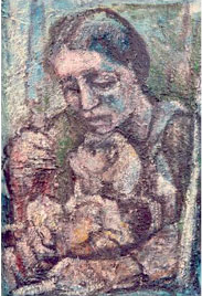 Jay S. Rosenblatt «Mother and older Child»