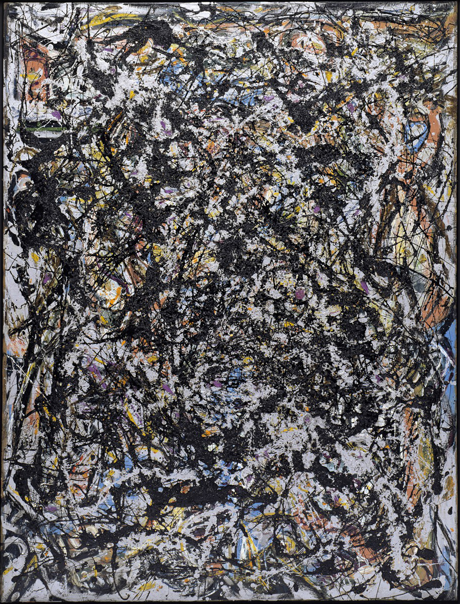 Jackson Pollock «Sea changes» 1947