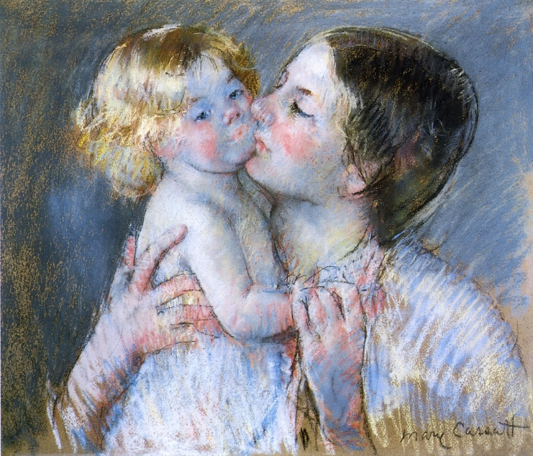 Mary Cassatt «A Kiss For Baby Anne»