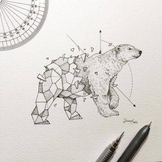 «Geometric Beasts» Kerby Rosanes