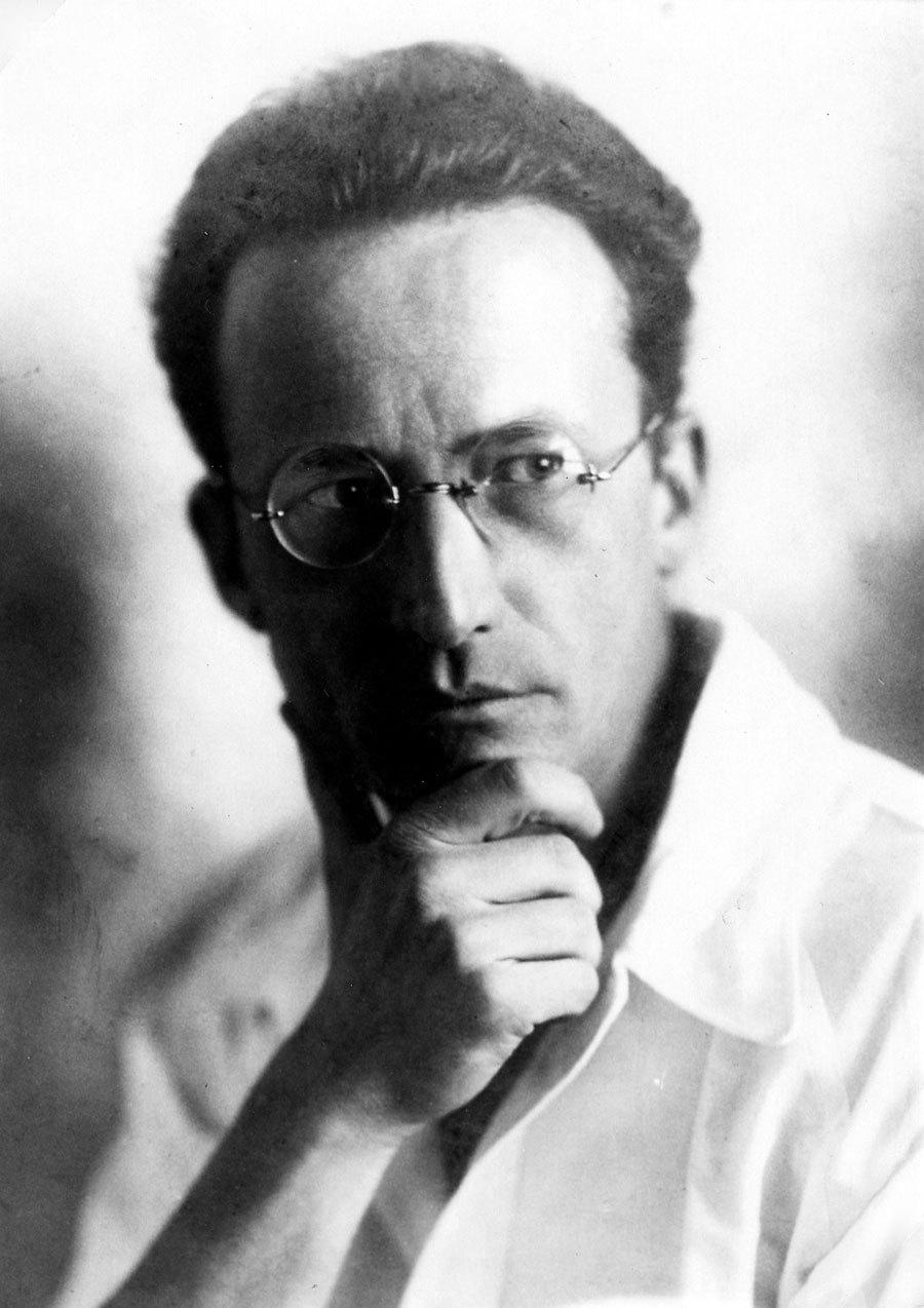 Carl Wolf Erwin Schrödinger en Berlin 1927