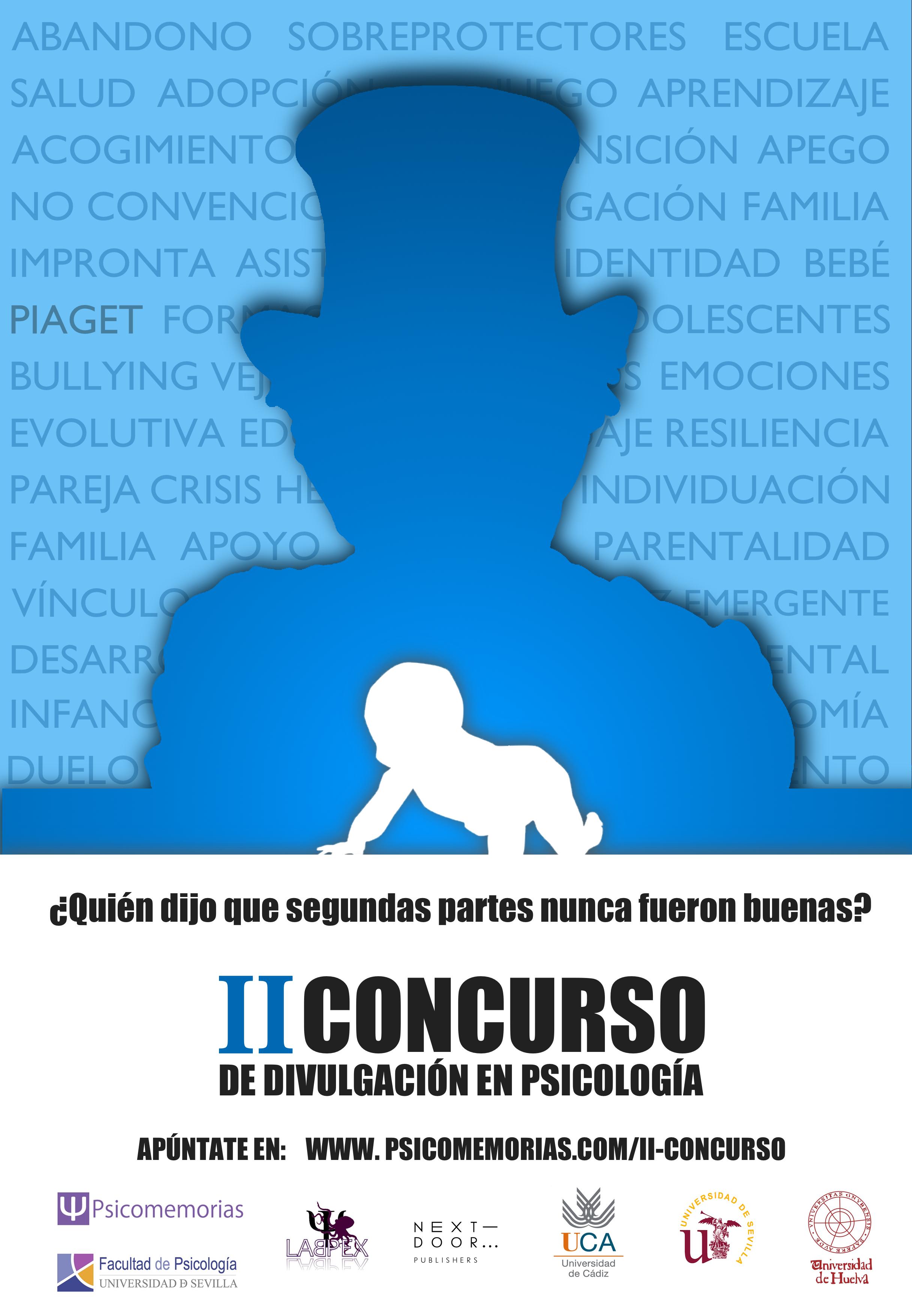 Concurso de divulgación en psicología PSICOMEMORIAS